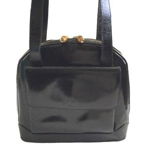 ae3fd9c4cb7 Gucci. JUST IN Vintage Gucci Patent Leather Shoulder Bag